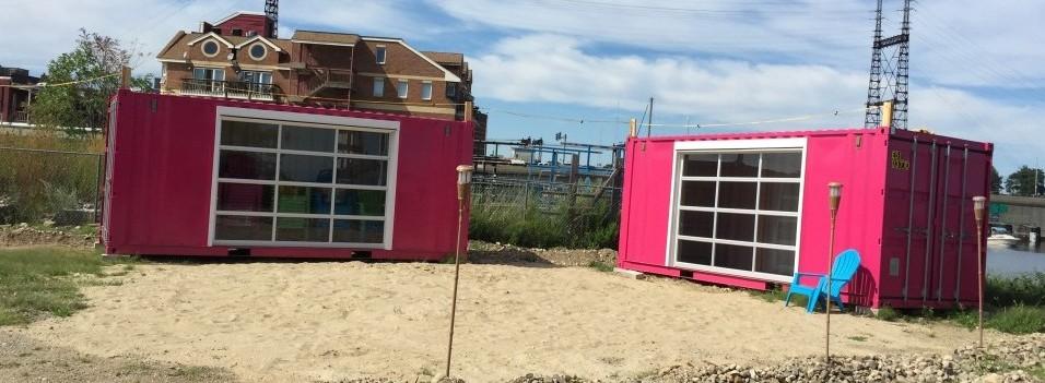 The Containers @ SONO BEACH, alternative exhibit space